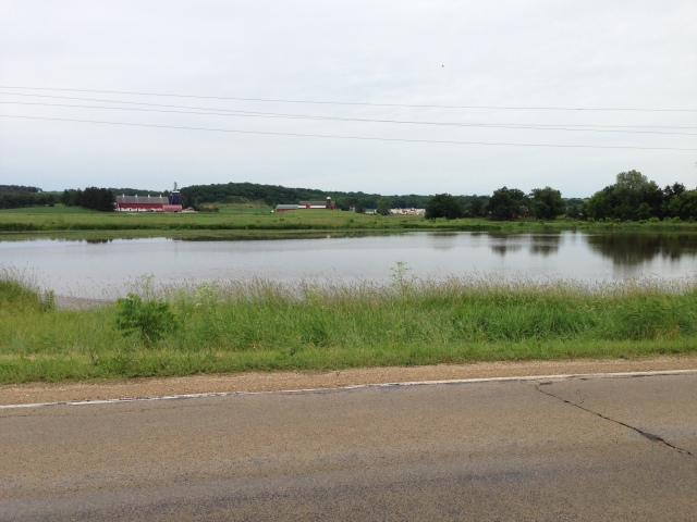 flooding by highway