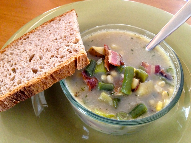poor man's chowder