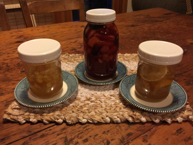 honey ferments